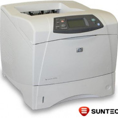 Imprimanta laser HP LaserJet 4200n (retea) Q2426A fara cuptor - Imprimanta laser alb negru