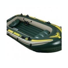 Barca gonflabila pentru patru persoane Intex 68350 - Barca Pescuit