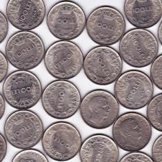 Regele MIHAI 50 b. monede 100 lei 1943+100 lei 1944 a.UNC aproape necirculate(1) - Moneda Romania