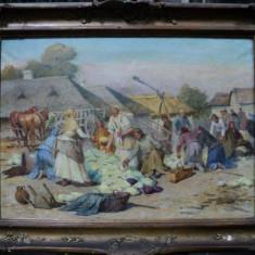 DEAK LAJOS EBNER, TARG LA MARGINEA ORASULUI - Pictor roman