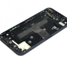 Capac spate sticla crapata + buton power + buton volum iPhone 5 022G9L - Capac baterie