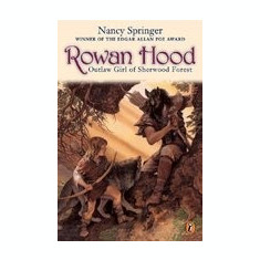 Rowan Hood: Outlaw Girl of Sherwood Forest - Carte in engleza