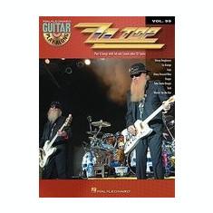 ZZ Top: Guitar Play-Along Volume 99