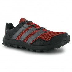 Adidas Slingshot Mens Trail Running Shoes 43 1/3 - Adidasi barbati, Culoare: Rosu