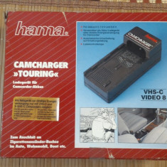 Camcharger Masina Hama - Incarcator Camera Video