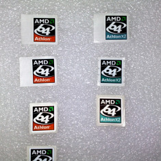 Sticker autocolant Amd Athlon 64, Athlon 64 X2 - Sticker laptop