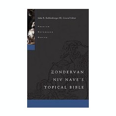 Zondervan NIV Nave's Topical Bible - Carte in engleza
