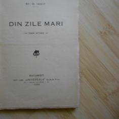 ST. O. IOSIF--DIN ZILE MARI - 1930