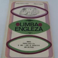 LIMBA ENGLEZĂ MANUAL PENTRU CLASA A IX-A* 1969 - Curs Limba Engleza