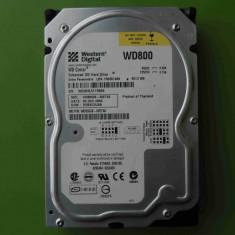 HDD 80GB Western Digital WD800JB ATA IDE - Hard Disk Western Digital, 40-99 GB, Rotatii: 5400, 2 MB