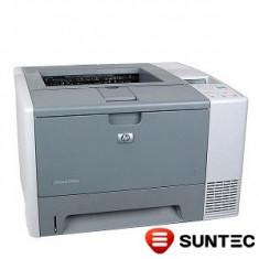 Imprimanta laser HP LaserJet 2430dn (duplex + retea) Q5962A fara cartus, cu zgomot cuptor - Imprimanta laser alb negru