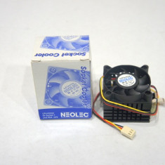 Cooler CPU Neolec socket 7/PGA i370 890410-C - Cooler PC