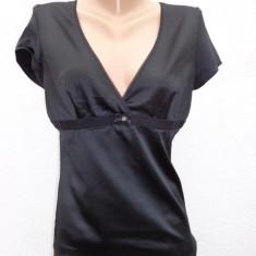 Top negru Dolce &Gabbana 100% original - Top dama Dolce & Gabbana, Marime: M/L, Universala, Maneca scurta