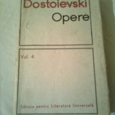 DOSTOIEVSKI ~ OPERE vol. 4 - coperti cartonate - Nuvela