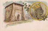 SALUTARI DIN ROMANIA (RAZBOIENI NEAMT) LITHOGRAFIE 1900   STEFAN- CEL- MARE, Necirculata, Printata