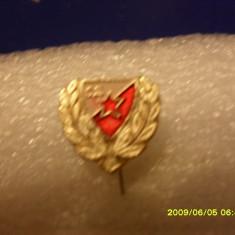 Insigna Steaua R. Belgrad - Insigna fotbal