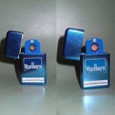 Bricheta Marlboro metalica electrica/electronica cu incarcare usb-NOUA - Tutungerie