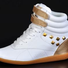 Adidasi originali Womens Reebok Freestyle - Ghete dama Reebok, Culoare: Din imagine, Marime: 37, 38