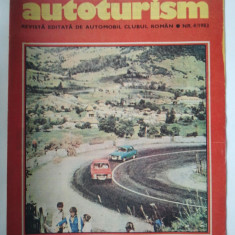 REVISTA AUTOTURISM - NUMARUL 4, ANUL 1983 { FORD ESCORT XR 3i & DACIA 1410 }