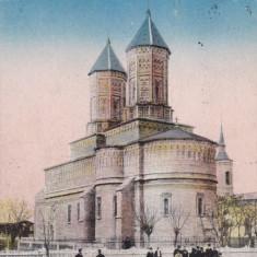 IASI, BISERICA TRE-ERARHI, CIRCULATA MAR.*922 - Carte Postala Moldova dupa 1918, Printata
