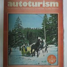 REVISTA AUTOTURISM - NUMARUL 2, ANUL 1987 { FIAT CROMA TURBO & OLTCIT CLUB }