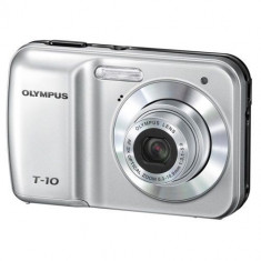OLYMPUS T10, 10MP. + CARD MEMORIE SD 1GB SI CABLU DE DATE + TRANANSPORT GRATIUT - Aparat Foto compact Olympus, Compact, 10 Mpx, 3x, 2.4 inch