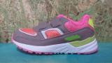 Adidas gri cu roz Super Gear, marimi 30 ,31,32,34, Fete