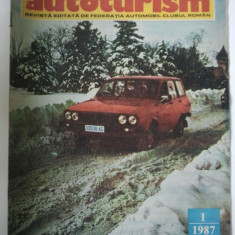 REVISTA AUTOTURISM - NUMARUL 1, ANUL 1987 { HONDA CIVIC CRX & DACIA 1300 }