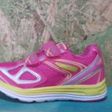 Adidas Super Gear de fete roz cu galben, 27.28