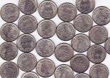 Regele MIHAI I.50  monede 100 lei 1943+100 lei 1944 a.UNC aproape necirculate(2)