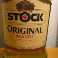 Brandy Stock original, italy, cl 70, gr. 36 ani 90 - Cognac