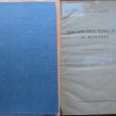 Pop , Din atlasul linguistic al Romaniei , 1934 , autograf catre Vaida Voievod