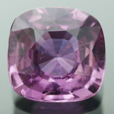 SAFIR NATURAL VIOLET SUPERB 0, 75 ct. - 5, 5 x 5, 5 mm netratat - mica ciubitura