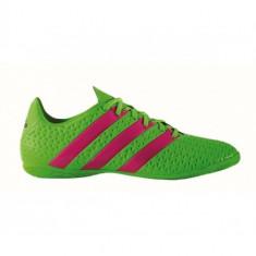 ADIDAS ACE 16.4 INDOOR COD AF5040 - Ghete fotbal Adidas, Marime: 39 1/3, 40 2/3, 41 1/3, 42, 42 2/3, 43 1/3, 44 2/3, 45 1/3, Culoare: Verde