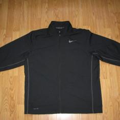 Bluza Nike Dry-Fit, originala, noua, marimea americana XL - Bluza barbati Nike, Culoare: Negru, Poliester