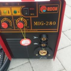 Invertor / aparat de sudura MIG/MAG + MMA (Edon MIG 280) 280Amperi