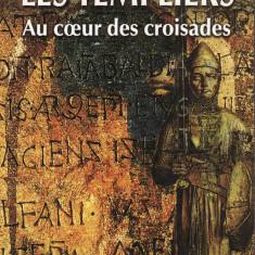 Arnaud De La Croix - Les Templiers.Au coeur des croisades - 34988 - Carte in franceza