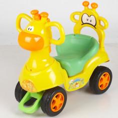 Masinuta Chipolino Giraffe Yellow-Green - Masinuta electrica copii