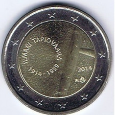FINLANDA moneda 2 euro comemorativa 2014-Tapiovaara, UNC