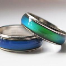 NOU Inel de Stare Spirit Schimba Culoarea Mood Ring Inele Rings - Cadou Superb, Marime: 17, 18, 19, 20, 21