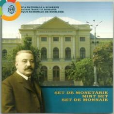 SET MONETARIE 2008-100 ANI INAUGURARE MUZEUL ANTIPA, 300 roni, taxe postale zero - Moneda Romania