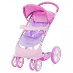 Carucior Pentru Papusi Chipolino Lola Pink - Carucior papusi