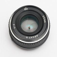Arsat 50mm F2 -obiectiv foto Nikon