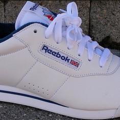 Adidas Reebok Alb - Nr. 44 = 29 cm = Import Anglia - Adidasi barbati Reebok, Piele naturala
