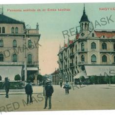 1650 - ORADEA, Market - old postcard - used - 1911 - Carte Postala Crisana 1904-1918, Circulata, Printata