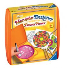 Set De Creatie Mini Mandala Flori - Jocuri arta si creatie Ravensburger