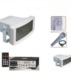 MEGAFOANE/PORTAVOCI 200 WATT,STATIE CU USB,TELECOMANDA,MICROFON BONUS,200 WATT.