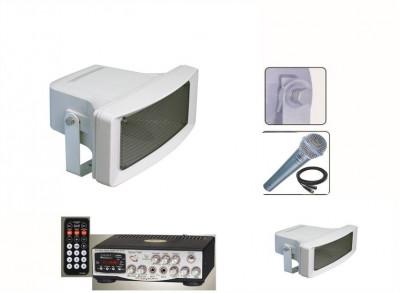 MEGAFOANE/PORTAVOCI 200 WATT,STATIE CU USB,TELECOMANDA,MICROFON BONUS,200 WATT. foto