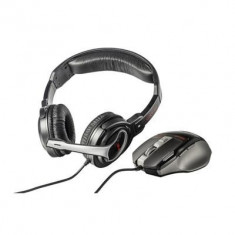 Kit Casti Si Mouse Trust Gxt 249 - Casca PC Trust, USB