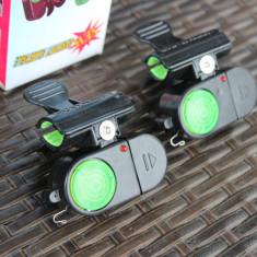 Avertizor Senzor Sonor pentru pus Direct pe Lanseta Incluse Bateriile Model 1